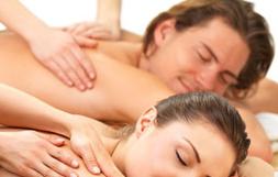 Massage en duo - Massothérapie détente - Service à la clinique À Massanté