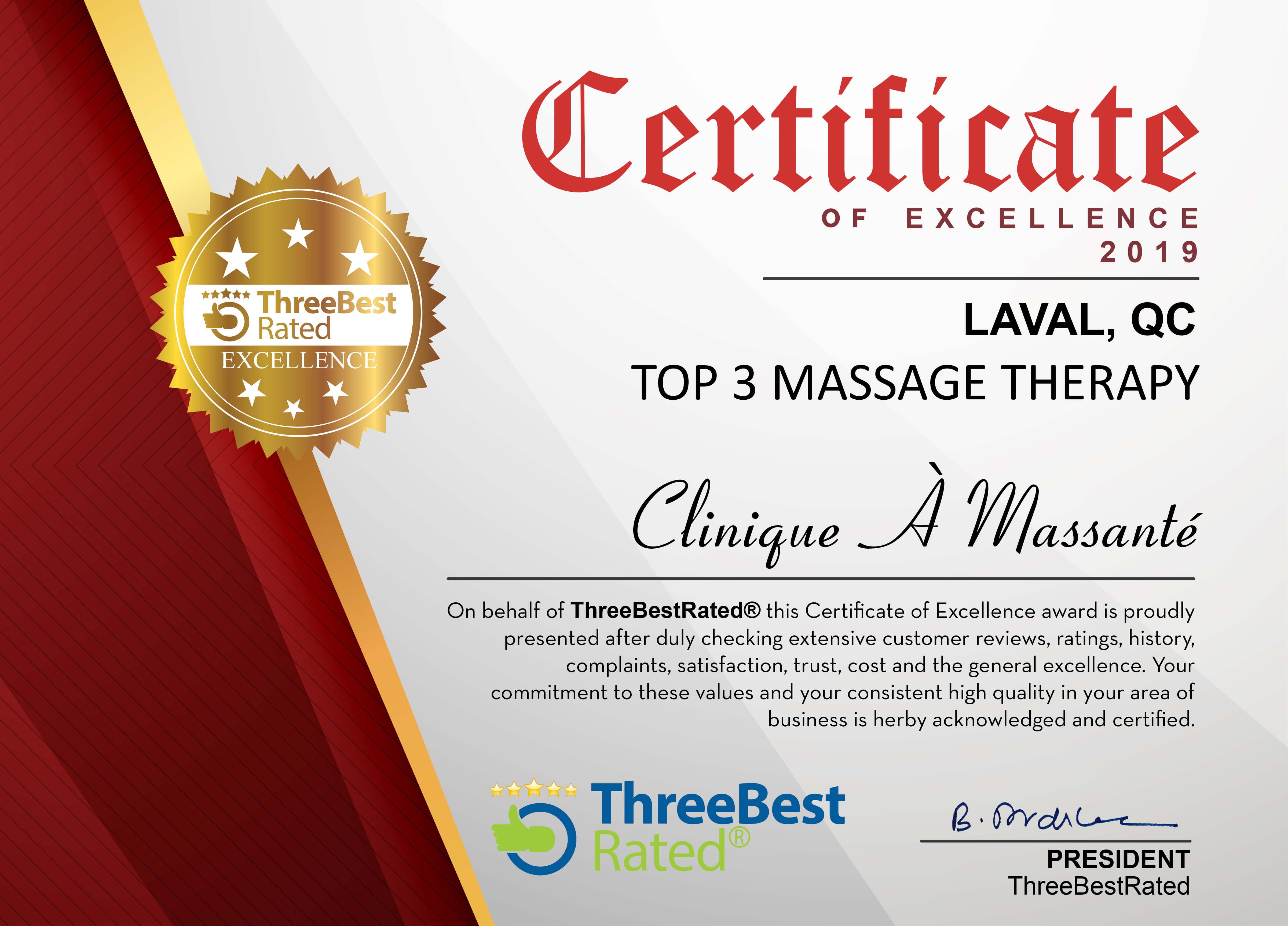 top3 meilleure massage laval