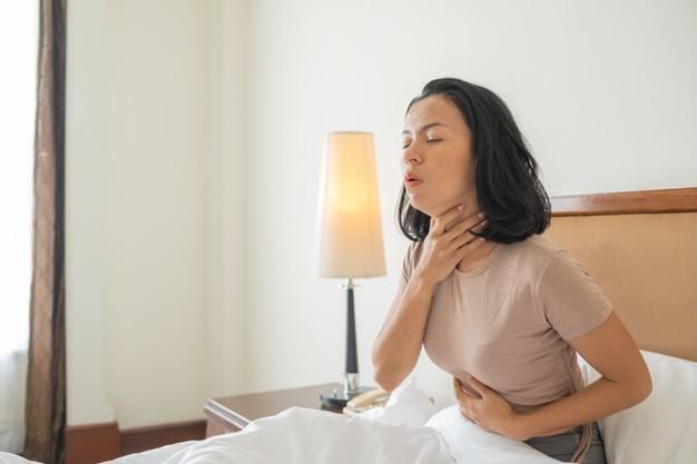 4. Des problèmes respiratoires